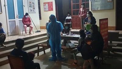 Ổ dịch TX Bỉm Sơn (Thanh Hóa): 4 ngày ghi nhận 62 ca mắc mới