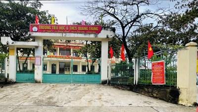Ổ dịch TX Bỉm Sơn (Thanh Hóa): 15.000 học sinh tạm dừng đến trường