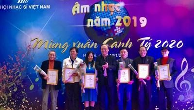 Trao giải thưởng Hội Nhạc sĩ Việt Nam năm 2020
