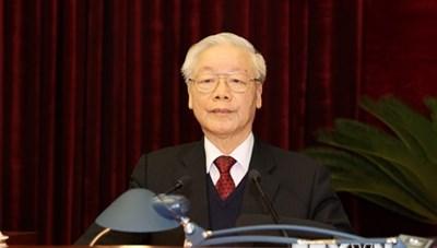 [ẢNH] Bế mạc Hội nghị 15 Ban Chấp hành Trung ương Đảng khóa XII