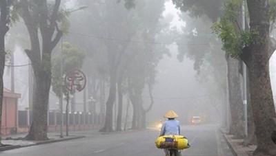 Bắc Bộ sáng sớm có sương mù, Nam Bộ mưa dông vài nơi