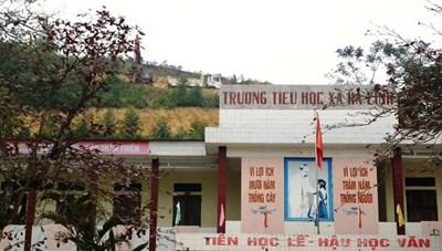 Thanh Hóa: Thi công cao tốc sát trường tiểu học