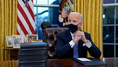 10 ngày đầu tiên trong Nhà Trắng của ông Joe Biden