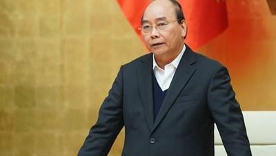 Thủ tướng chủ trì phiên họp Chính phủ đầu năm 2021