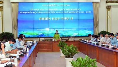 TP Hồ Chí Minh tiếp nhận hồ sơ ứng cử đại biểu Quốc hội và HĐND