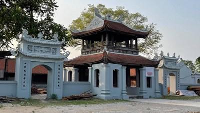 Xử phạt sai phạm ở di tích quốc gia chùa Đậu