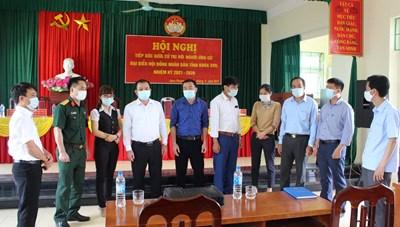 Cao Phong (Hòa Bình): Ứng cử viên đại biểu HĐND tỉnh tiếp xúc cử tri