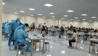Từ 17/5, Bắc Ninh tạm dừng sử dụng lao động đến từ Bắc Giang
