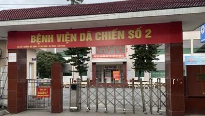 Bắc Ninh chấm dứt hoạt động Bệnh viện Dã chiến số 2 Gia Bình