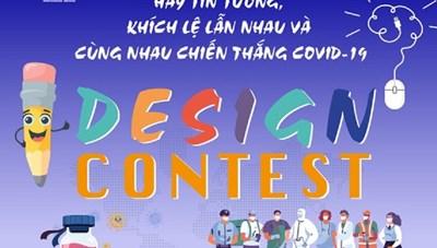 Thi thiết kế khích lệ cùng nhau chiến thắng Covid-19