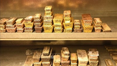 CHDC Congo thu giữ nhiều vàng buôn lậu