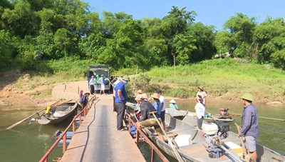 Tuyên Hóa (Quảng Bình): Hỗ trợ 40.000 con cá giống cho hộ nghèo