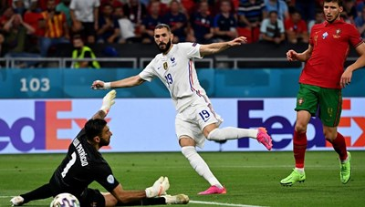 Những màn so tài kinh điển ở vòng 1/8 Euro 2020
