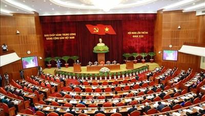 Ngày làm việc thứ ba của Hội nghị lần thứ 3 Ban Chấp hành Trung ương Đảng khoá XIII