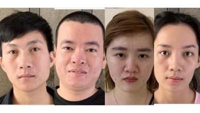 Hà Nội: Bắt 4 đối tượng tổ chức đánh bạc qua mạng 70 tỷ