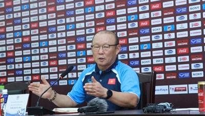 HLV Park Hang Seo: Tập trung cho vòng loại World Cup