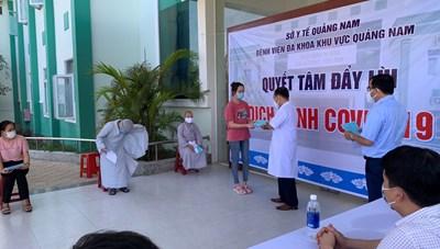 Quảng Nam: 11 bệnh nhân Covid-19 được ra viện