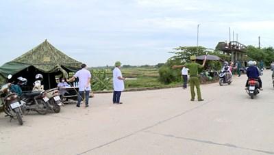 Quảng Ninh lập chốt kiểm soát dịch Covid-19 tại các địa bàn giáp ranh Hải Dương