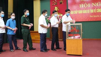 Phó Chủ tịch tỉnh giữ chức Phó Bí thư Tỉnh ủy Thái Nguyên