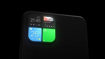 iPhone 12 sẽ có cụm camera sau thành màn hình phụ