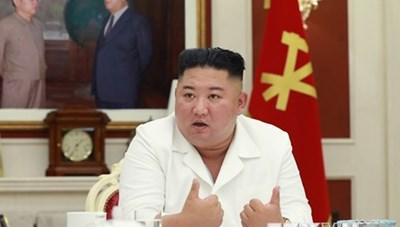Ông Kim Jong-un chủ trì cuộc họp về ứng phó bão và Covid-19