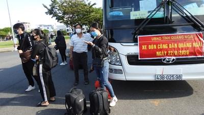 16 nghìn người ngoại tỉnh kẹt lại Đà Nẵng được xét nghiệm Covid-19