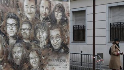 Pháp bắt đầu phiên xét xử vụ khủng bố tòa soạn báo Charlie Hebdo