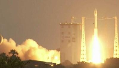 Vệ tinh an ninh đầu tiên của Thái Lan được phóng thành công lên vũ trụ