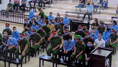 Xét xử vụ án 'giết người' và 'chống người thi hành công vụ' ở Đồng Tâm