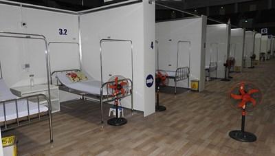 Bệnh viện dã chiến Tiên Sơn không có bệnh nhân