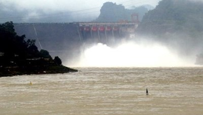 Lào Cai: Nhà máy thủy điện Bắc Hà sắp xả lũ qua đập tràn