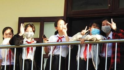 Đà Nẵng: Học sinh 82 trường THCS, THPT trở lại trường học