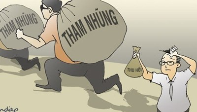 Quyết liệt thu hồi tài sản tham nhũng
