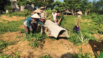 Mặt trận cùng dân xây dựng nông thôn mới