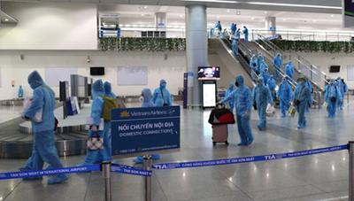 TP Hồ Chí Minh: Người nhập cảnh trên 14 ngày phải cách ly 6 ngày