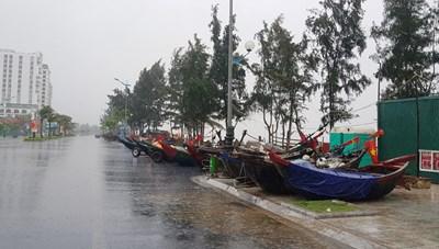 Hoàn lưu bão số 7: Mưa lớn, ngập úng trên diện rộng