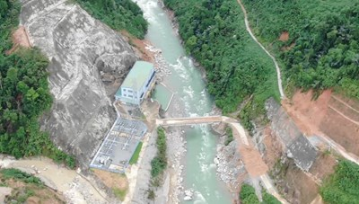 Khu vực Thủy điện Rào Trăng 3 từng được cảnh báo có nguy cơ cao sạt lở