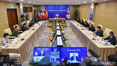 Hội nghị Cấp cao ASEAN lần thứ 37: Tăng cường hợp tác Mê Công - Nhật Bản, Mê Công - Hàn Quốc