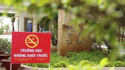 Tăng cường phòng, chống tác hại của thuốc lá trong các cơ sở giáo dục