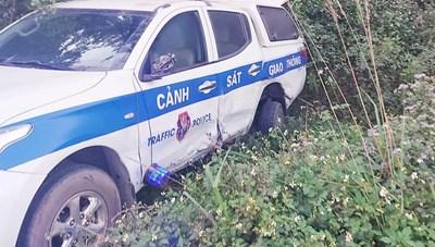 Vụ tài xế say xỉn húc văng xe CSGT: Không truy cứu trách nhiệm hình sự