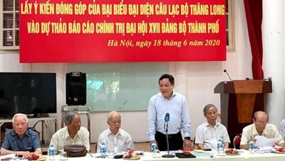 'Thành ủy Hà Nội phải tìm ra nguyên nhân vụ việc 8B Lê Trực kéo dài'