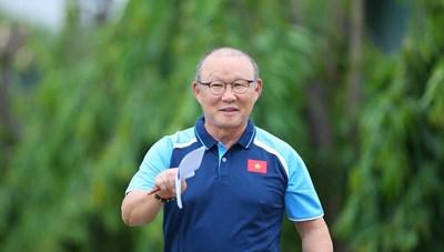 HLV Park Hang Seo: Mong có thêm cơ chế, tăng cơ hội ra sân cho cầu thủ trẻ