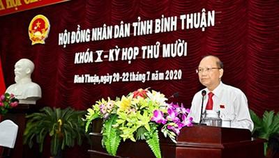 Bình Thuận: Khai mạckỳ họp thứ 10 HĐND tỉnh khóa X