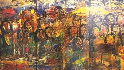 Triển lãm tranh sơn mài Nguyễn Thành Long