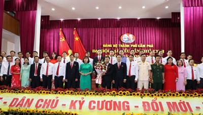 Quảng Ninh: Đại hội đảng bộ thành phố Cẩm Phả lần thứ XXIII
