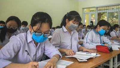 Thi tốt nghiệp THPT 2020: Phân loại thí sinh theo mức độ nguy cơ lây nhiễm