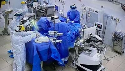 10 bệnh nhân mắc Covid-19 đang nguy kịch