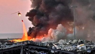 Thảm cảnh Lebanon sau 2 vụ nổ kinh hoàng