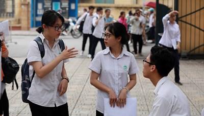 Linh hoạt tổ chức thi tốt nghiệp THPT