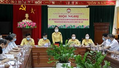 Mặt trận Nghệ An góp ý dự thảo Báo cáo chính trị Đại hội Đảng bộ tỉnh